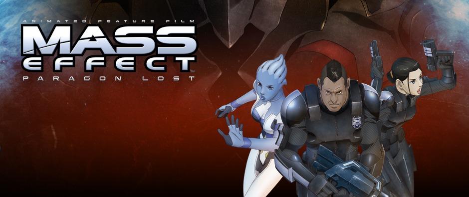 Dvd Review Mass Effect Paragon Lost Comicsonline