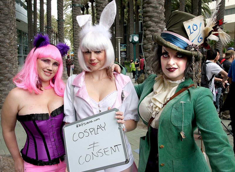 Cosplay is not CONsent © 16-bit Sirens